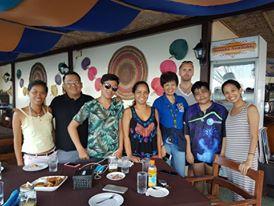 Welcome dinner @LEmlunay Resort