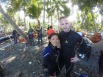 dive team posing in Lomuyon Sarangani